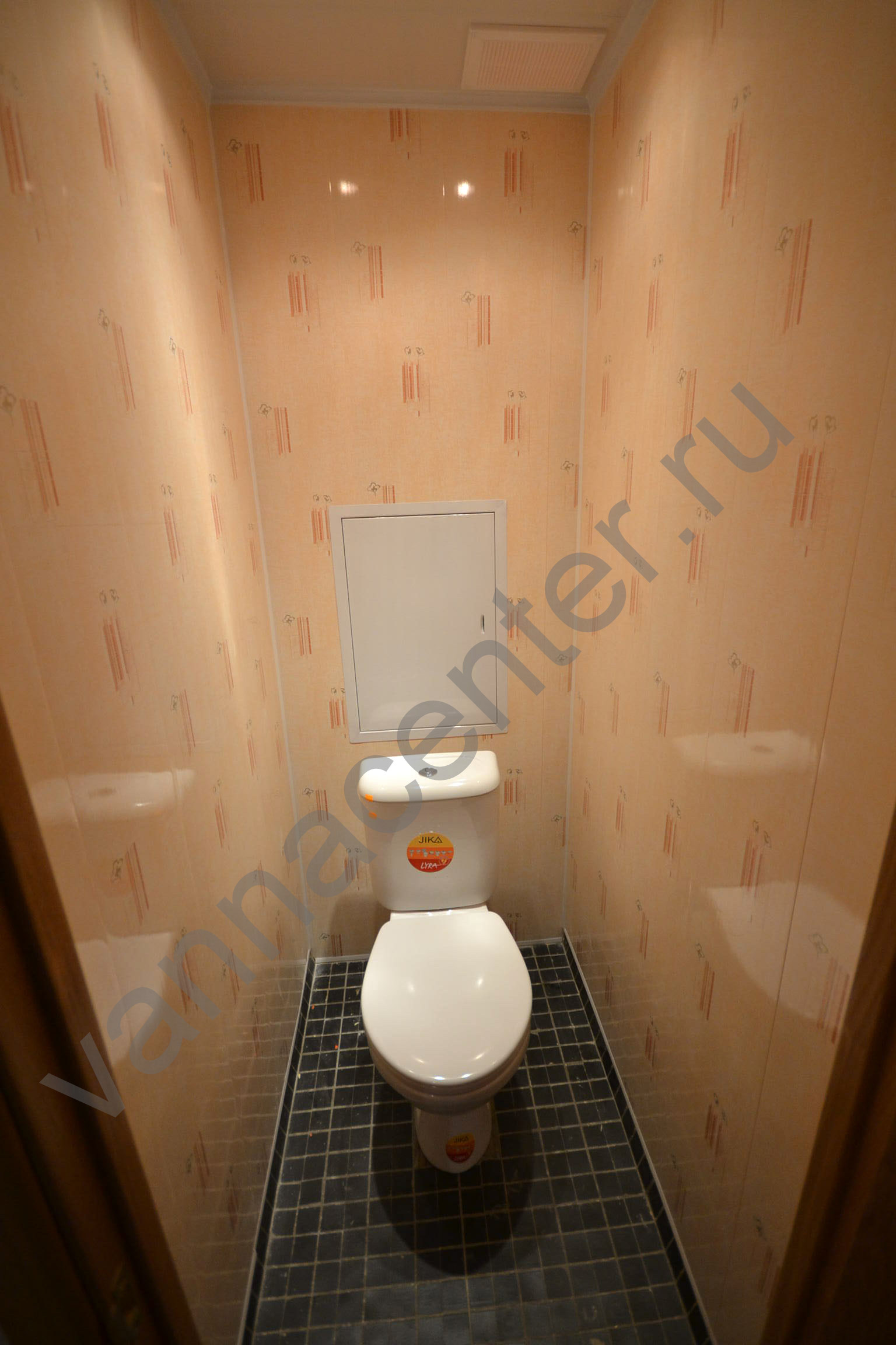 Обшивка туалета панелями пвх своими руками