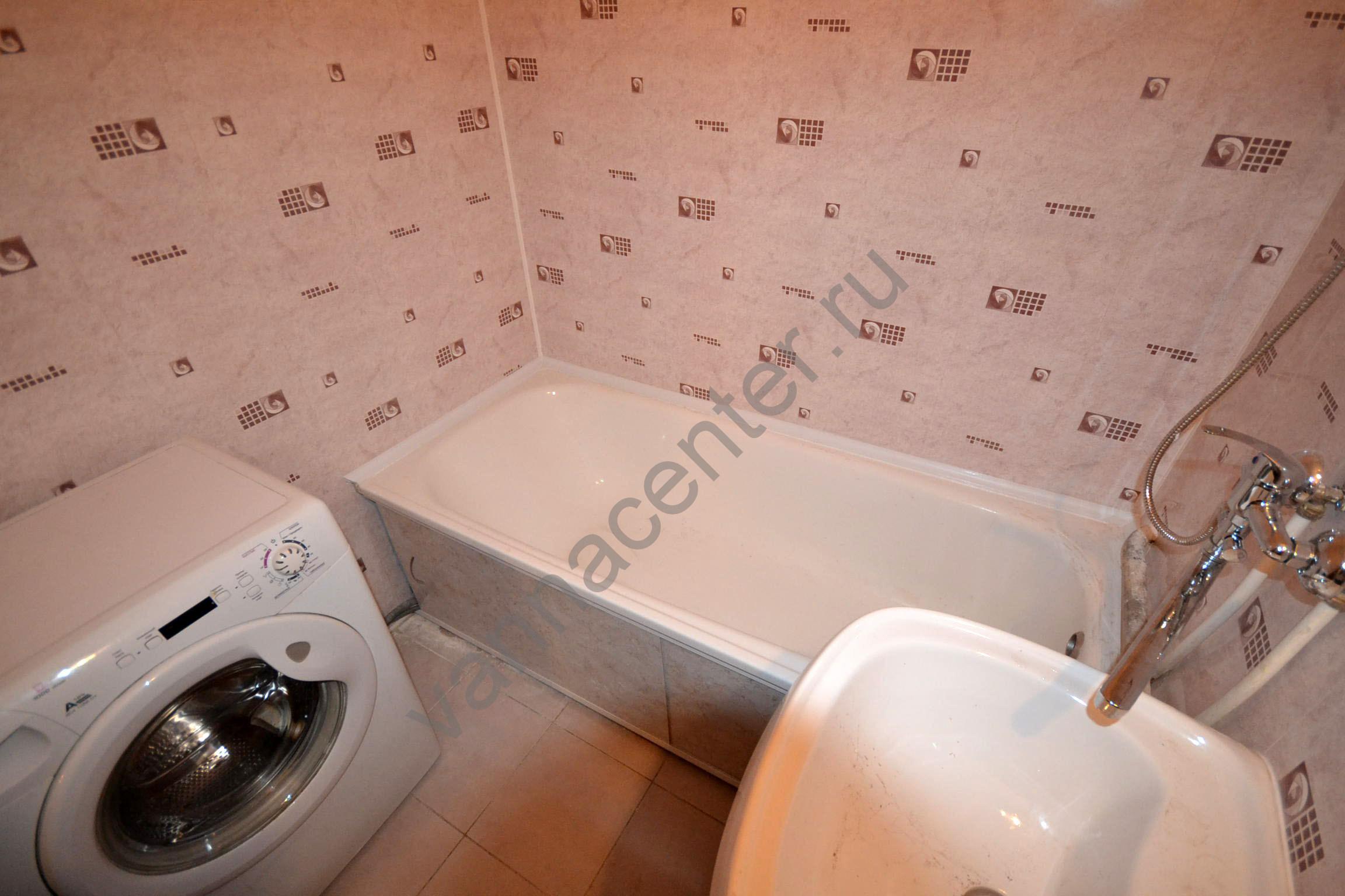 Ванная комната пластиковыми панелями своими руками 157
