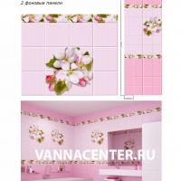 Яблоневый-цвет-розовый