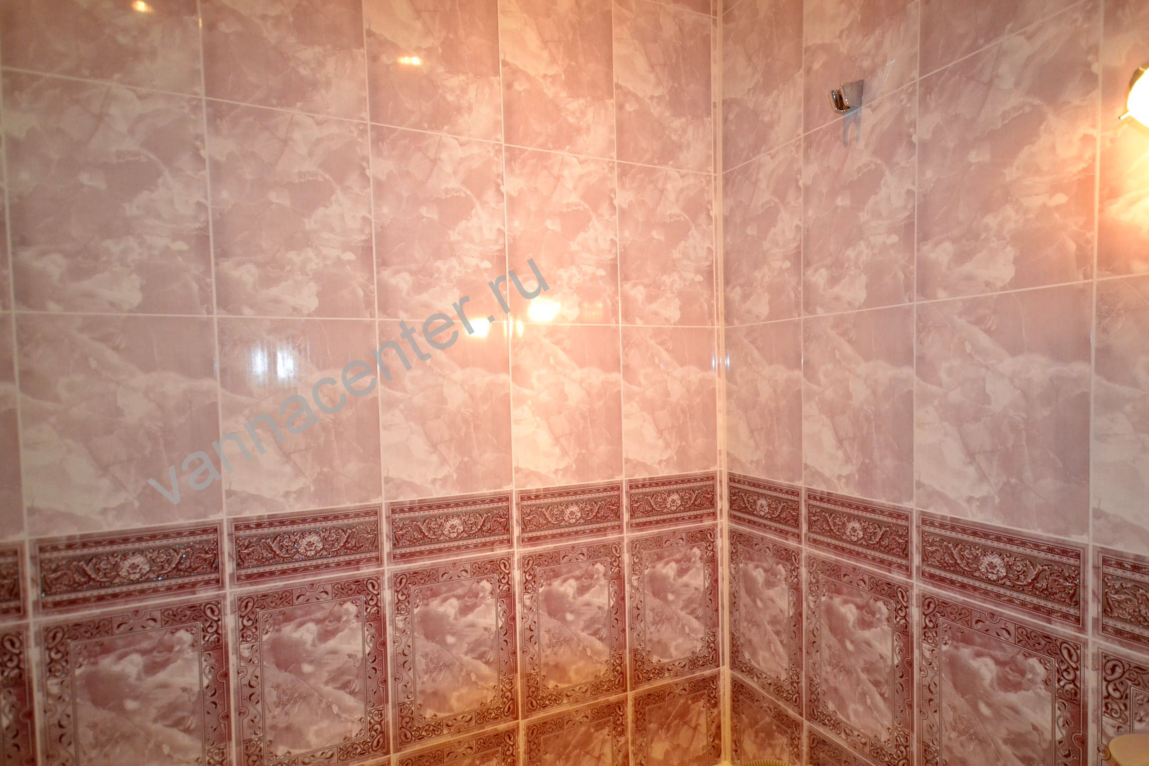 Примеры работ Ремонт ванной комнаты